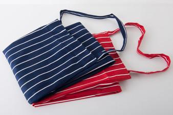 Butchers Stripe Apron - Blue & White / Red & White