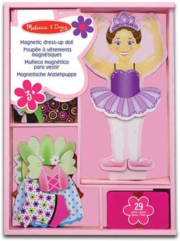 Nina Ballerina Magnetic Wooden Dress-Up Doll (13554)