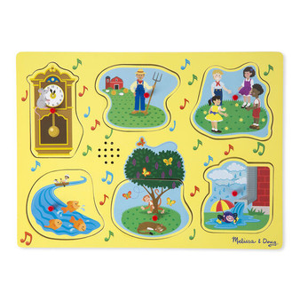 Sing-Along Nursery Rhymes Wooden Sound Puzzle - 2
