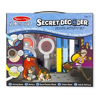 Melissa & Doug Secret Decoder Deluxe Activity Kit (15238)
