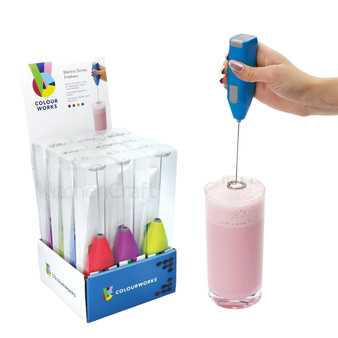Kitchen Craft Colourworks Drinks Frothers - assorted colours