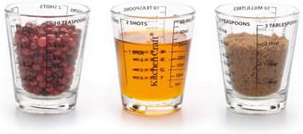 KitchenCraft 50ml Glass Mini Measure X 1 (KCGLSMEASDISP18)