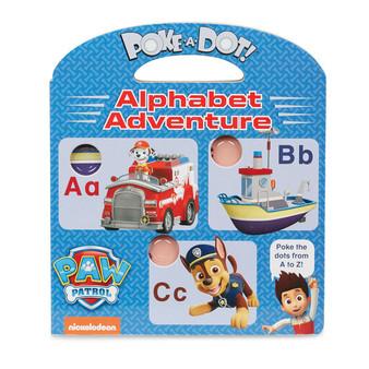 Paw Patrol Poke a Dot Alphabet adventure (33263)