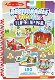 Melissa & Doug PAW Patrol Restickable Stickers Flip-Flap Pad - Classic Missions (33253)
