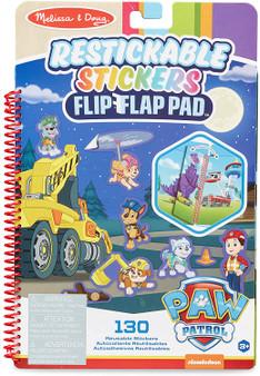 Melissa & Doug PAW Patrol Restickable Stickers Flip-Flap Pad - Ultimate Rescue (33255)