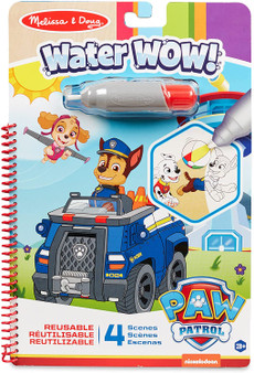 Melissa & Doug PAW Patrol Water WOW! Chase Water Reveal Travel Activity Pad (33251)