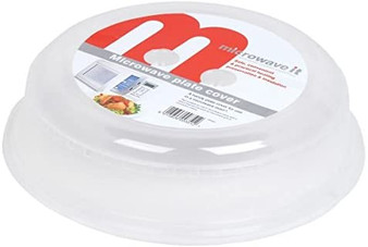Microwave it Clear Plate Cover - 26cm