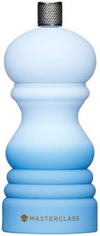 MasterClass Pepper Mill or Salt Grinder with Interchangeable Cap - Blue Ombré - 12 cm