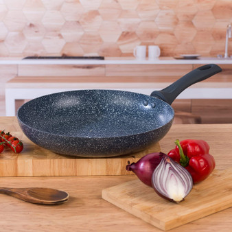 Russell Hobbs Blue Marble 28cm Non-Stick Fry Pan