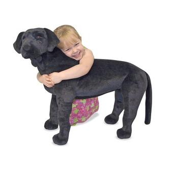 Black Labrador Giant Stuffed Animal