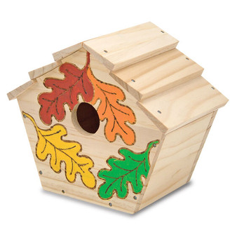 Create your own Wooden Bird House