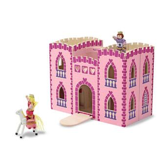 Fold & Go Princess Castle Wooden Play Set