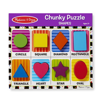 Shapes Chunky Puzzle - 8 Pieces