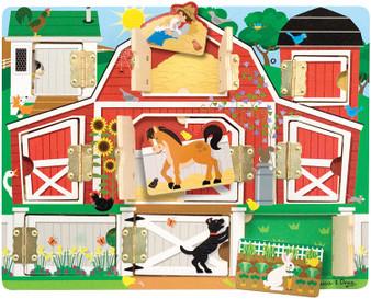 Magnetic Farm Hide & Seek Board
