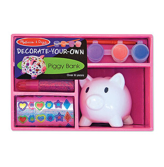 Paint and Decorate Your Own Piggy Bank