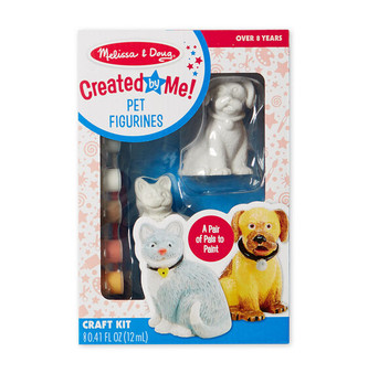 Paint your own Pet Figurines