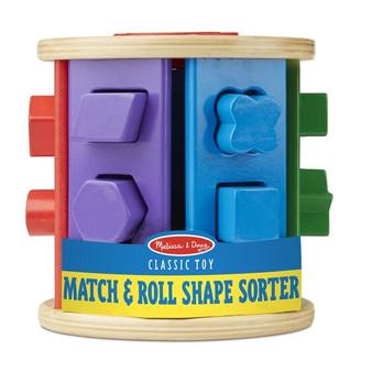 Match & Roll Shape Sorter