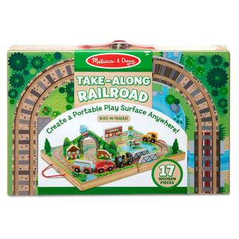 Take-Along Wooden Tabletop Railroad