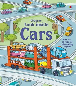 Usborne Books - Look Inside: Cars