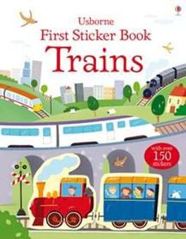 First Sticker Book: Trains