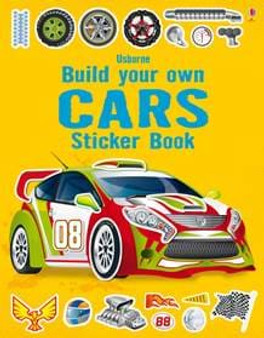 Usborne Books - Build your own Cars Sticker book