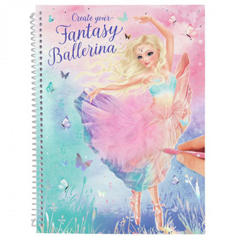 Create your Fantasy Model Colouring Book BALLET