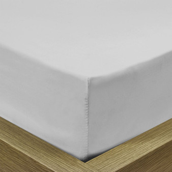 Extra Deep Fitted Sheet - Pale Silver