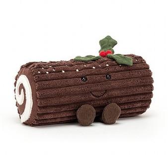 Jellycat Christmas Yule Log