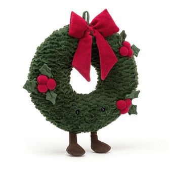 Jellycat Christmas Amuseable Wreath