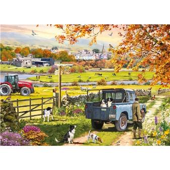 Countryside Morning - 1000 Piece Jigsaw
