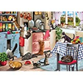 Cats in the Kitchen - 1000 Piece Jigsaw