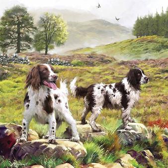 Spaniels on the Moor - 1000 Piece Jigsaw