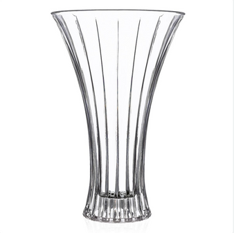 30cm RCR Timeless Crystal Flower Vase