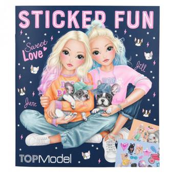 TOPModel Stickerworld Frenchie DOG - 10740