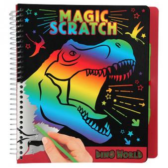 Dino World Magic-Scratch Book - 10833