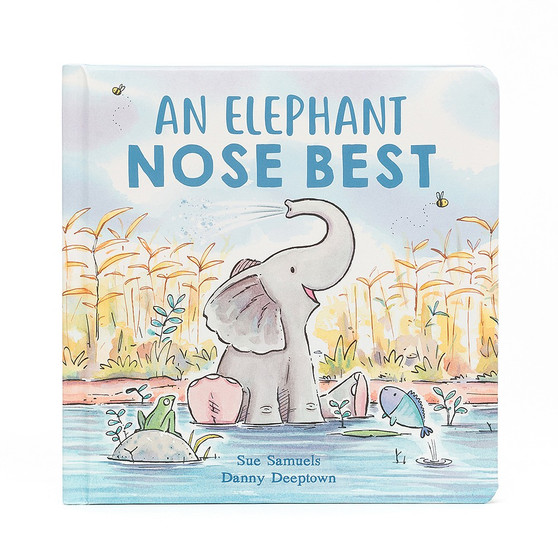 Jellycat An Elephant Nose Best Board Book