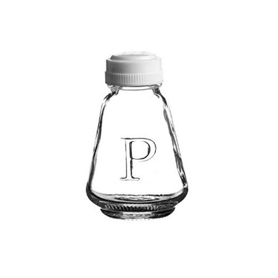 Ravenhead Essentials Glass Pepper Pots, 4.8x4.8x8.3 cm