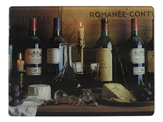 "Creative Tops ""Vintage Wine"" Worktop Protector by, 40 x 30 cm (16"" x 12"")"