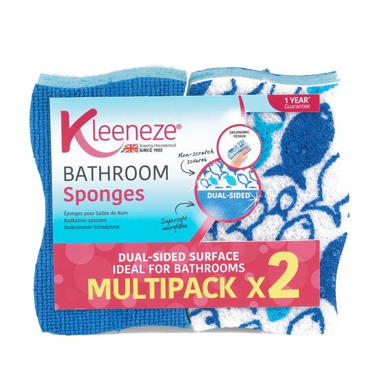 Pack Of 2 Kleeneze Bathroom Sponges