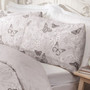 Mollie Grey Cotton Rich Reversible Duvet Set
