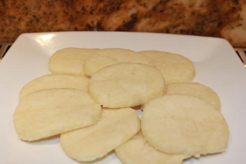 Fully baked sugar cookies