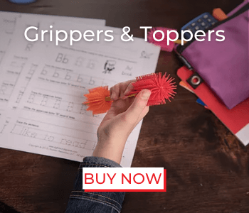 SPIKE, sensory toys, grippers, toppers, school items, backtoschool, class materials