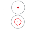 Holosun Red Dot Sight - 2 MOA / 65 MOA circle HS503GU
