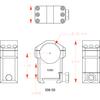 "Badger Ordnance 30mm Max-50 Scope Rings - Ultra High 1.45"""