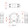 """Badger Ordnance 30mm Scope Rings - High 1.125"""""""