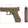 Glock G19X 9mm pistol FDE military compact