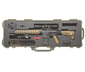 "HK MR762 A1 Military Style Long Rifle Package II 7.62 NATO 16-1/2"" barrel w/ Leupold scope shown in Tactical Case"