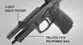 Beretta M9A1 Tactial 9mm Pistol 92FS Type M9A1 features