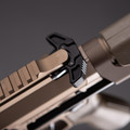 Maxum Defense .300BLK Tactical Pistol PDW in FDE view of the charging handle