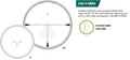 Vortex Razor EBR-9 MRAD (mil) reticle